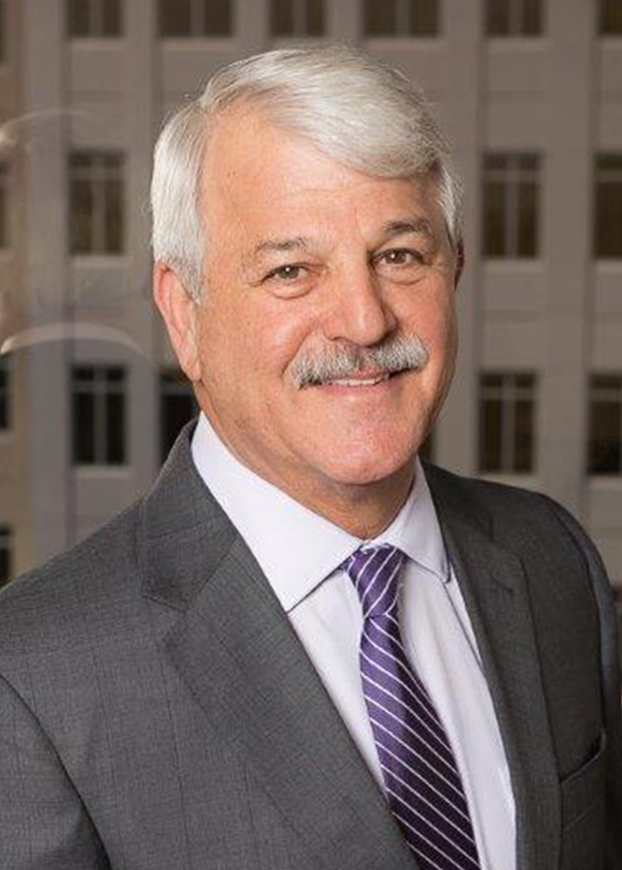 Commissioner Burt Saunders