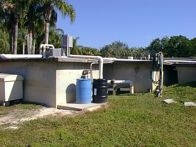 small community wastewater plant (package plant)