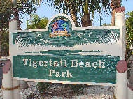 Tigertail Beach Sign