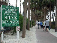 South Marco Beach Sign