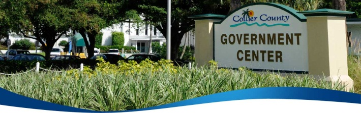 Main Entrance sign to the county government center