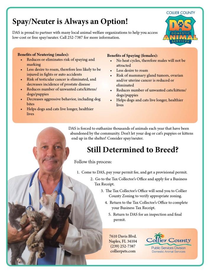 Breeder Regulations | Collier County, FL