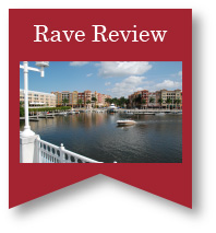 Rave Review Button