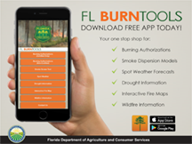 FL BurnTools App for phone