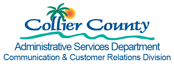 Communication and Customer Relations color Logo with Admin Service Dept.