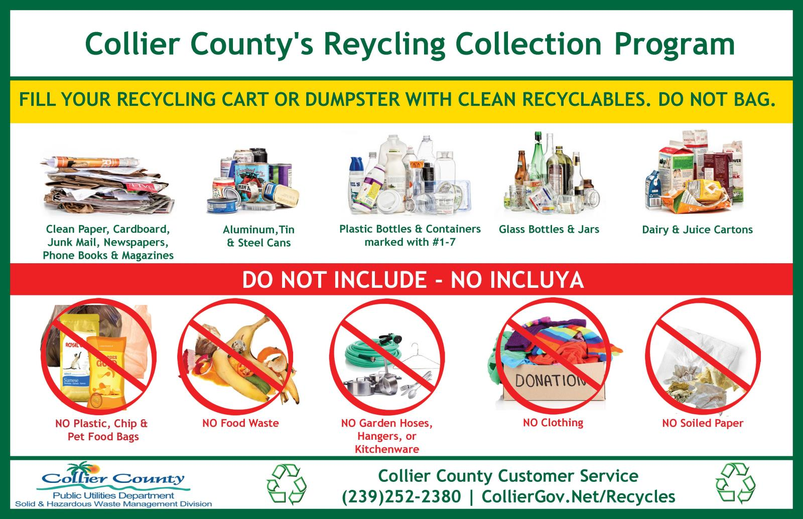Recycling at Home   Collier County, FL