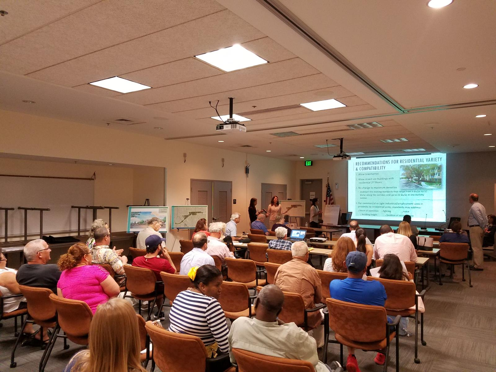 Photo from 11-08-18 Public Meeting