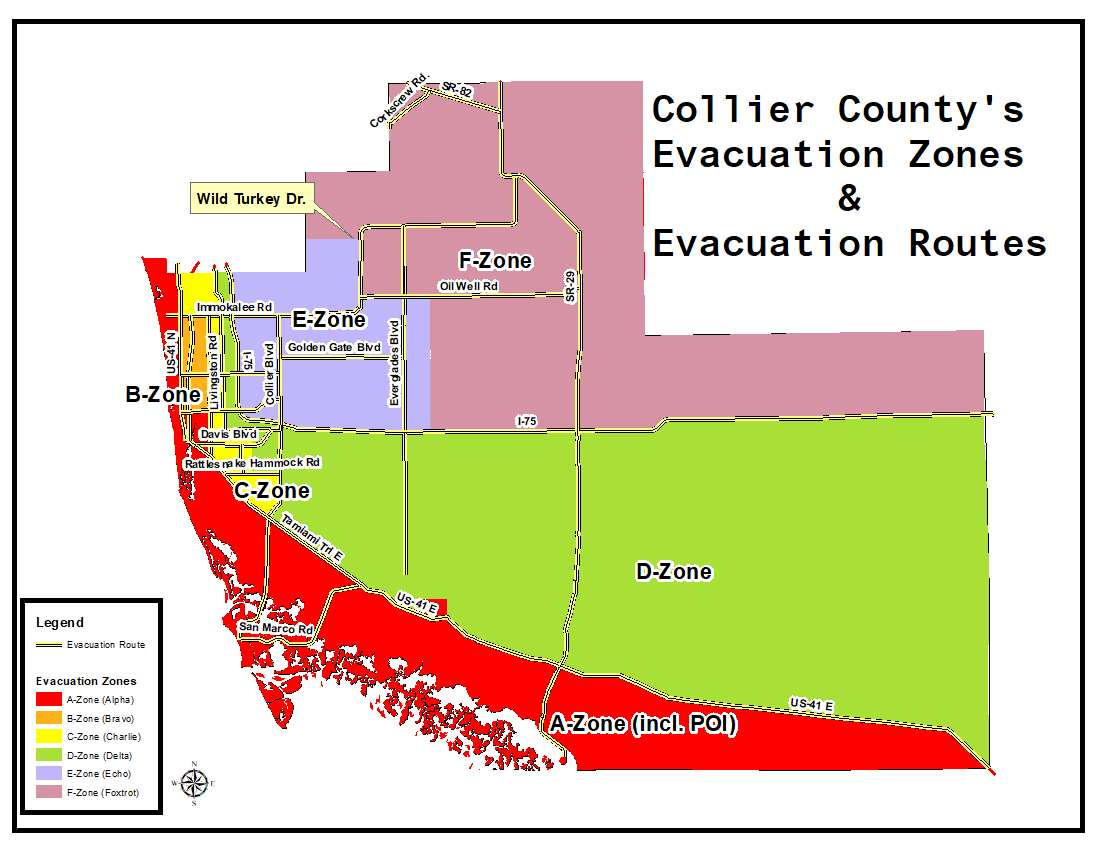 Collier County Wildfire Map.Why Evacuate Collier County Fl