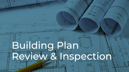 Building Plan Review & Inspection Division button