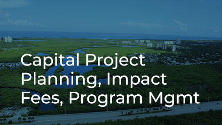 Capital Project Planning, Impact Fees, Program Management