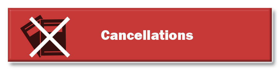 Cancellations Red Button