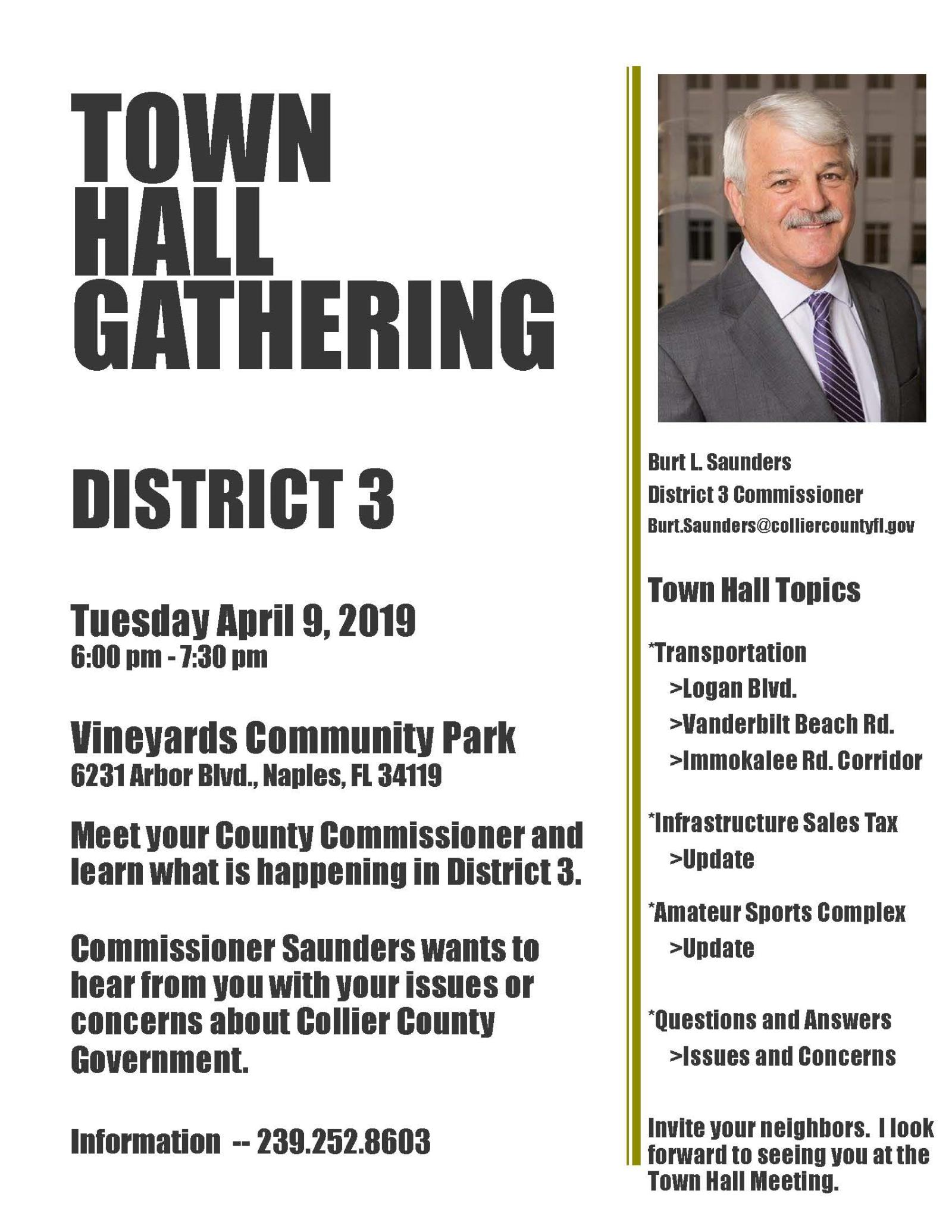 Town Hall Flyer Vineyards April 9 2019