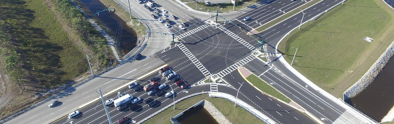 transportation engineering - immokalee road and collier boulevard intersection