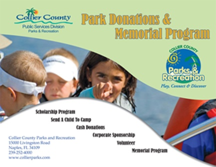 Park Donations & Memorial Program Cover