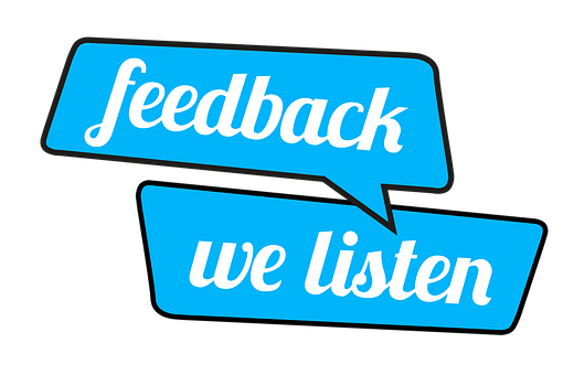 feedback-we listen