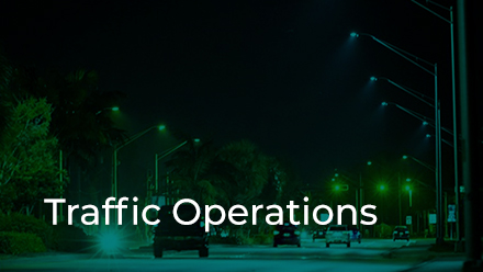 Traffic Operations Section button