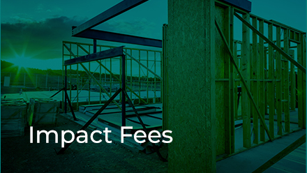 Impact Fees Section button