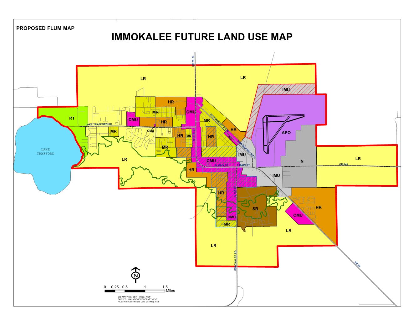 Cover Proposed Immokalee Future Land Use Map